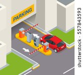 Isometric Parking Payment...