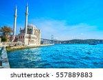 Ortakoy Mosque And Bosphorus...