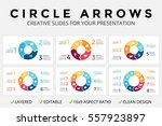 vector circle arrows...