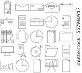 vector illustration thin line...   Shutterstock .eps vector #557960917