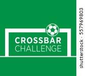 crossbar chalenge vector logo | Shutterstock .eps vector #557969803