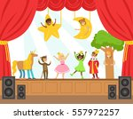 Children Actors Performing...