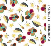 pattern for summer fashion ... | Shutterstock .eps vector #557987977
