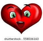 heart. vector | Shutterstock .eps vector #558036163