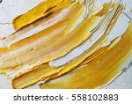 white and yellow oil paint... | Shutterstock . vector #558102883