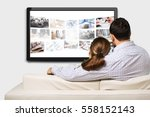 watching. | Shutterstock . vector #558152143
