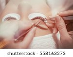 close up of professional... | Shutterstock . vector #558163273