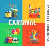 Carnival Concept With Musical...