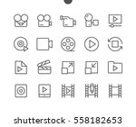 audio video pixel perfect well... | Shutterstock .eps vector #558182653