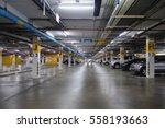 underground parking | Shutterstock . vector #558193663