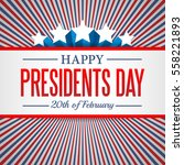 Presidents Day Background. Usa...
