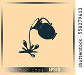 milk jug or pitcher logo | Shutterstock .eps vector #558279613
