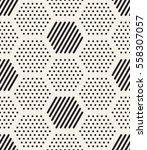 vector seamless pattern. modern ... | Shutterstock .eps vector #558307057