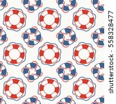 simple nautical retro pattern... | Shutterstock .eps vector #558328477