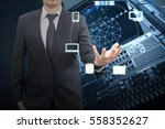 professional businessman... | Shutterstock . vector #558352627
