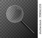 magnifying glass vector... | Shutterstock .eps vector #558361153