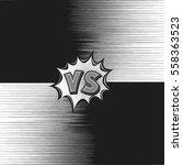 versus letter background... | Shutterstock .eps vector #558363523