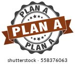plan a. stamp. sticker. seal.... | Shutterstock .eps vector #558376063