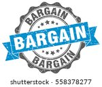 bargain. stamp. sticker. seal.... | Shutterstock .eps vector #558378277
