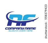nf logo | Shutterstock .eps vector #558379423