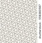 vector seamless pattern. modern ... | Shutterstock .eps vector #558383587