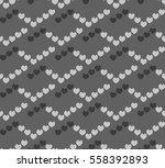 romantic seamless pattern ... | Shutterstock .eps vector #558392893