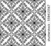 christian geometric pattern... | Shutterstock .eps vector #558415567