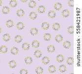 seamless abstract pattern with... | Shutterstock .eps vector #558421987