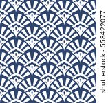 geometric seamless pattern with ... | Shutterstock .eps vector #558422077