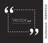 abstract concept vector empty... | Shutterstock .eps vector #558495523