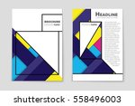 abstract vector layout... | Shutterstock .eps vector #558496003