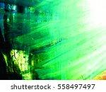 green  old vintage background.... | Shutterstock . vector #558497497
