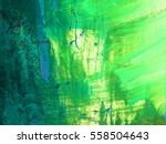 green grunge texture. old paint. | Shutterstock . vector #558504643