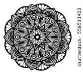 mandalas for coloring book.... | Shutterstock .eps vector #558511423