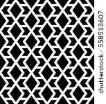 abstract geometric pattern with ... | Shutterstock .eps vector #558513607