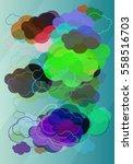 wind texture icon   Shutterstock .eps vector #558516703