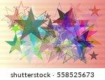 galaxy idea texture   Shutterstock .eps vector #558525673