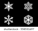 Snowflake Vector Icon...