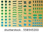 banner ribbon label vector... | Shutterstock .eps vector #558545203