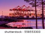 Shipping Cranes  Point Pleasan...