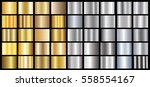 gold silver gradient background ... | Shutterstock .eps vector #558554167