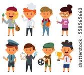 a vector illustration of... | Shutterstock .eps vector #558565663