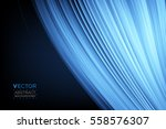 abstract curve. smooth silk...   Shutterstock .eps vector #558576307