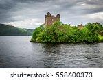 Urquhart Castle Sits Beside...