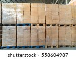 warehouse transport and... | Shutterstock . vector #558604987