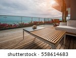 sea view terrace | Shutterstock . vector #558614683