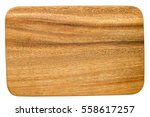 cutting board isolated on white ...   Shutterstock . vector #558617257