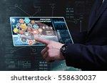 business  technology  internet... | Shutterstock . vector #558630037