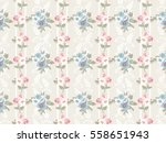 seamless cute pattern of small... | Shutterstock .eps vector #558651943