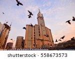 mecca  saudi arabia  jan 8 ... | Shutterstock . vector #558673573